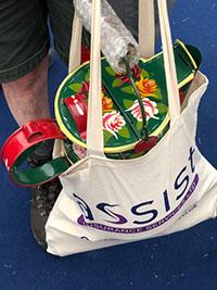 Crick boat show bag